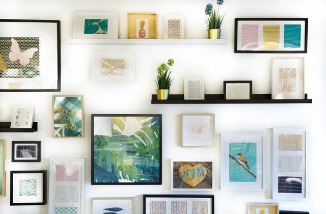 formas de arreglar sus paredes sin el uso de pintura