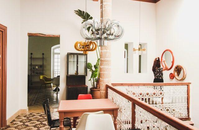 Toques eclecticos en el diseño de interiores