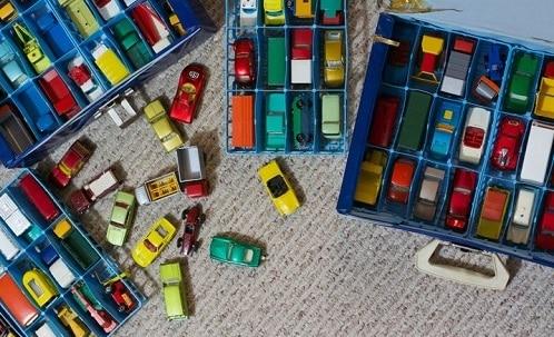 ordenar juguetes