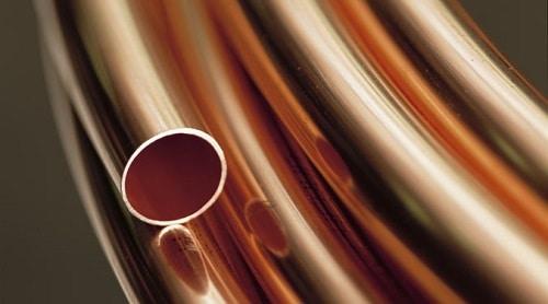 tuberias de metal cobre