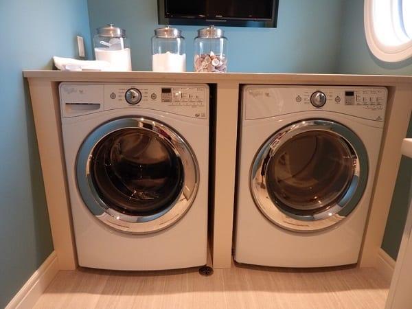 Cómo crear un cuarto de lavado en casa