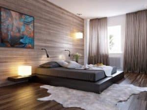 Iluminación del dormitorio