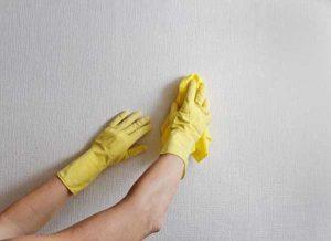 Limpiar la pared luego de reformar