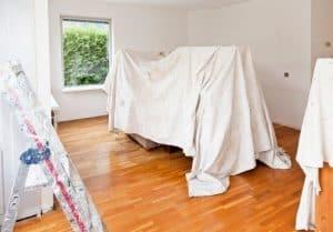 Proteger muebles durante la remodelación