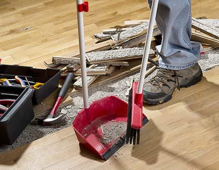 limpiar despues de construccion