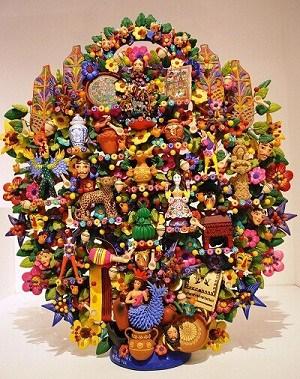 Árbón de la vida-artesanía mexicana