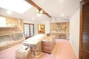 Proteja sus muebles al remodelar la casa