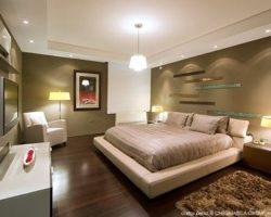 iluminación de dormitorio