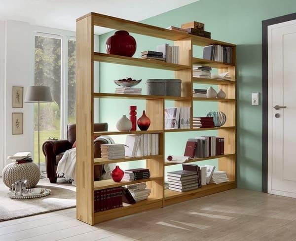 separar ambientes con mobiliario