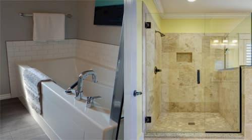Cómo cambiar bañera por plato de ducha
