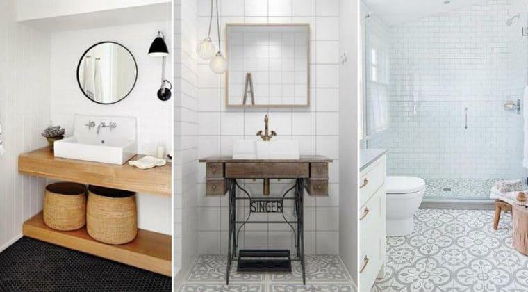 Como diseñar un baño con poco espacio
