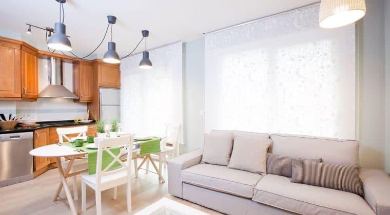 Ideas para integrar salón, comedor y cocina