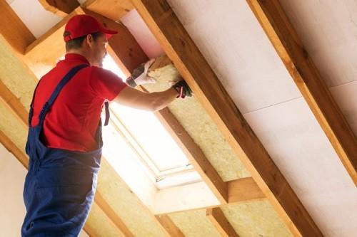 aislamientos en el techo