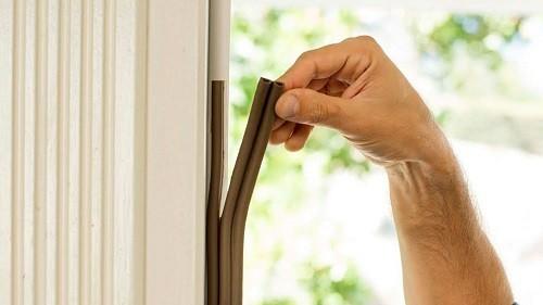 aislar puertas y ventanas
