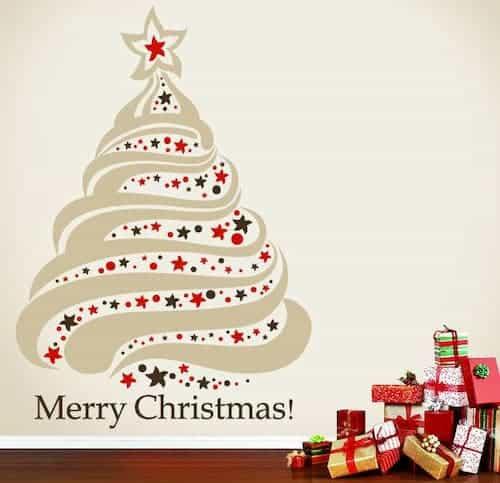 vinilos decorativos para Navidad