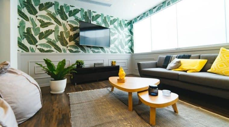 Reforme sus paredes sin obras con papel pintado (1)