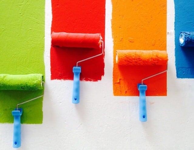 elegir la pintura