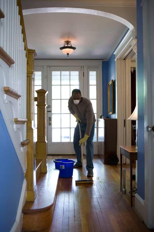 limpiar la casa en poco tiempo